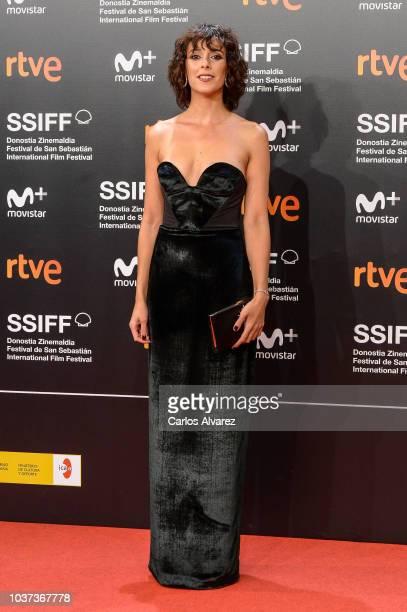 Belen Cuesta attends 'Vivir Sin Permiso' premiere during 66th San Sebastian Film Festival on September 21 2018 in San Sebastian Spain