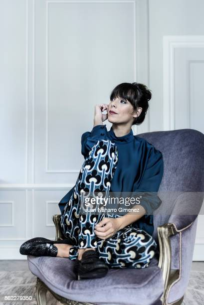 Belen Cuesta poses during a portrait session at Maria Cristina Hotel during 65th San Sebastian International Film Festival on September 27 2017 in...