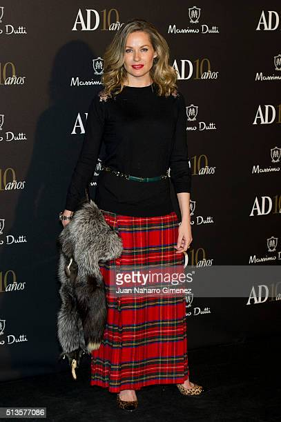 Belen Domecq attends 'AD Awards' at Ritz Hotel on March 3 2016 in Madrid Spain