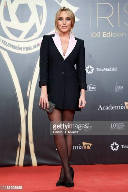 Belen Esteban attends 'Iris Academia de Television' awards at Nuevo Teatro Alcala on November 18 2019 in Madrid Spain