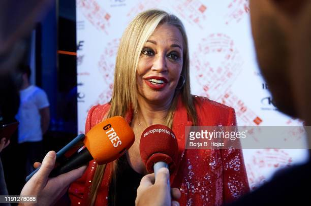 Belen Esteban attends photocall of 'El Lazo Que Nos Une' on December 01, 2019 in Madrid, Spain.