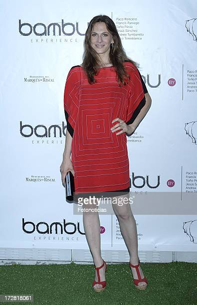 Belen Fabra attends Bambu Producciones anniversary party at Shoko on July 4, 2013 in Madrid, Spain.