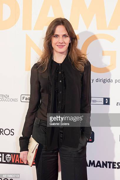 Belen Fabra attends 'Diamantes Negros' Madrid Premiere at Palafox cinema on November 25, 2013 in Madrid, Spain.