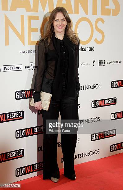 Belen Fabra attends 'Diamantes Negros' premiere at Palafox cinema on November 25, 2013 in Madrid, Spain.