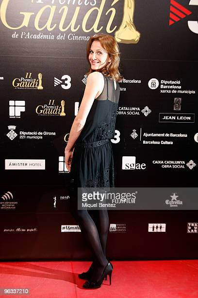 Belen Fabra attends Gaudi Cinema Awards 2010 on February 1, 2010 in Barcelona, Spain.