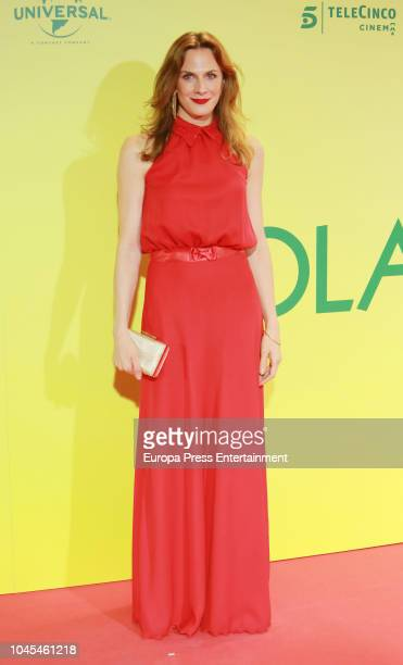 Belen Fabra attends 'Ola de Crimenes' premiere on October 3, 2018 in Madrid, Spain.