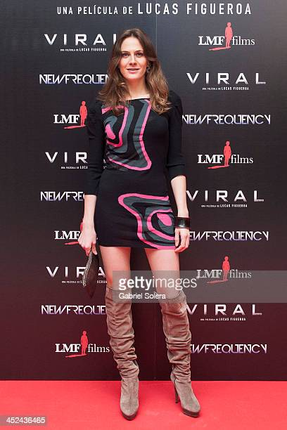 Belen Fabra attends 'Viral' Madrid Premiere at Capitol cinema on November 28, 2013 in Madrid, Spain.