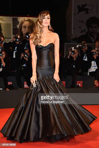 Belen Rodriguez attends 'Pasolini' Premiere during the 71st Venice Film Festival on September 4 2014 in Venice Italy