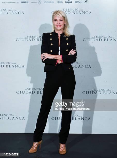Belen Rueda attends El Silencio de La Ciudad Blanca photocall on October 23 2019 in Madrid Spain