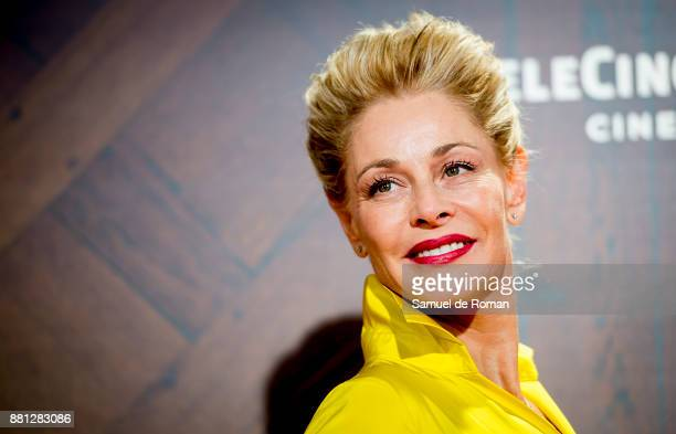 Belen Rueda attends 'Perfectos Desconocidos' premiere at the Capitol Cinema on November 28 2017 in Madrid Spain