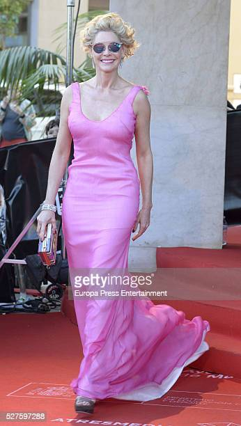 Belen Rueda is seen during the 19th Malaga Film Festival on April 30 2016 in Malaga Spain