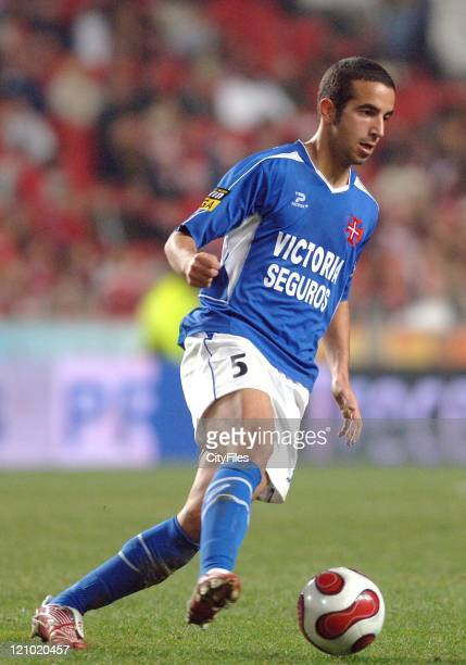 Belenenses' Ruben Amorim in action during the Portuguese Bwin League match against Benfica December 21 2006 in Lisbon Portugal