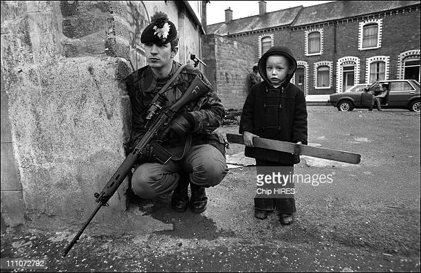 Belfast after Bobby Sands death the child war in Belfast Great Britain on May 06 1981