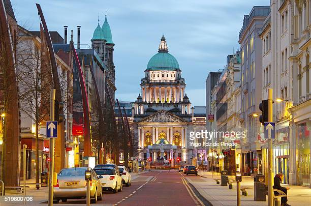 belfast city hall- belfast- u.k. - belfast stock pictures, royalty-free photos & images