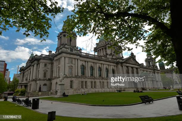 Belfast City Hall. On Wednesday, May 19 in Belfast, Northern Ireland