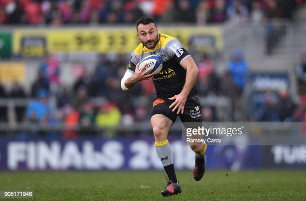 Belfast Ireland 13 January 2018 Jeremy Sinzelle of La Rochelle during the European Rugby Champions Cup Pool 1 Round 5 match between Ulster and La...