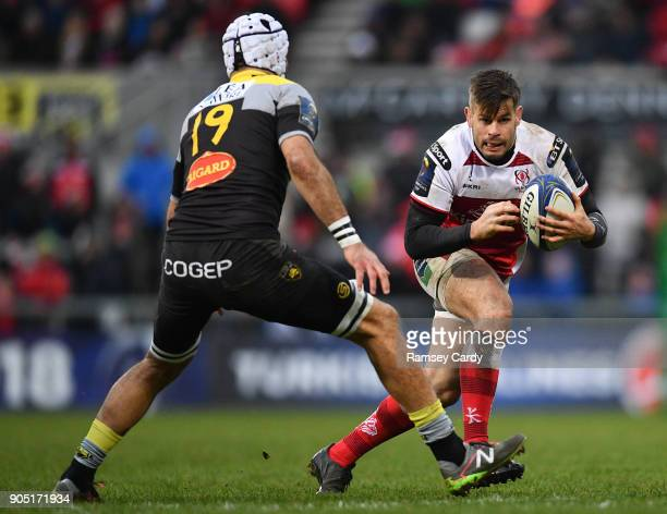 Belfast Ireland 13 January 2018 Louis Ludik of Ulster during the European Rugby Champions Cup Pool 1 Round 5 match between Ulster and La Rochelle at...