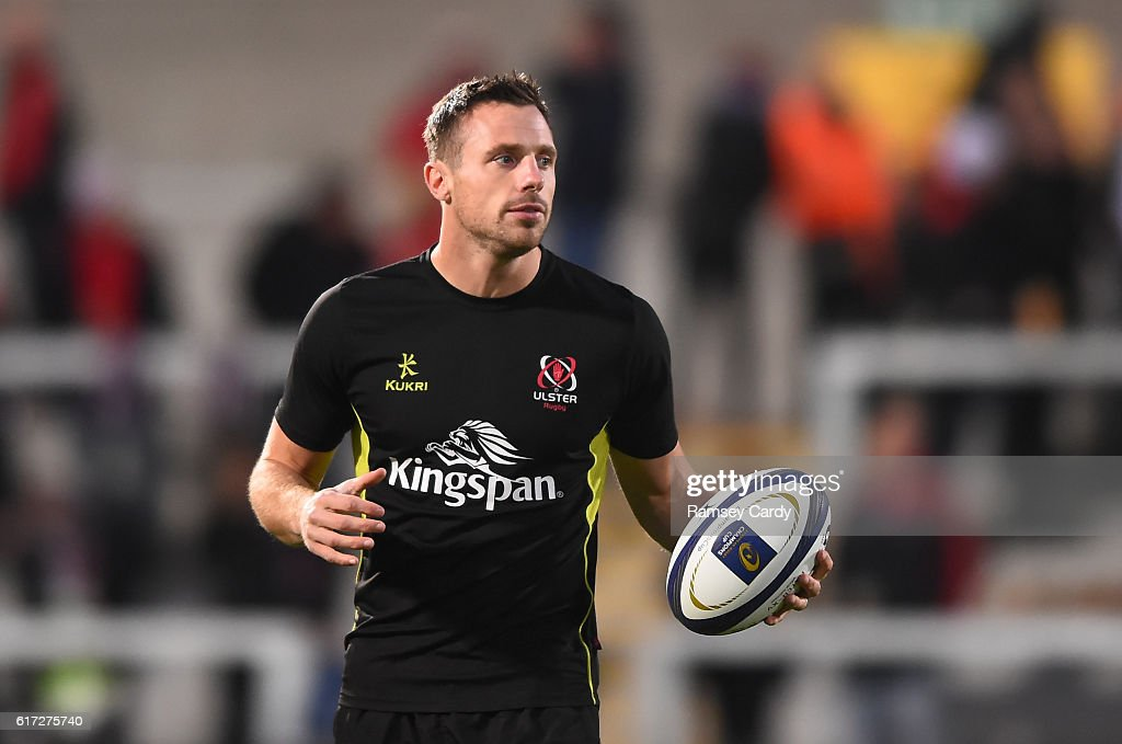 Belfast , Ireland - 22 October 2016; Tommy Bowe of Ulster ahead of the European Rugby Champions Cup Pool 5 Round 2 game between Ulster and Exeter Chiefs at Kingspan Stadium in Belfast.