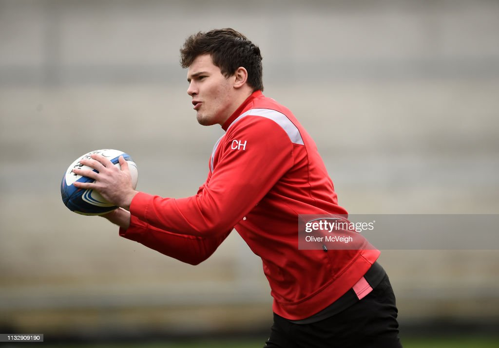 GBR: Ulster Rugby Squad Training and Press Conference