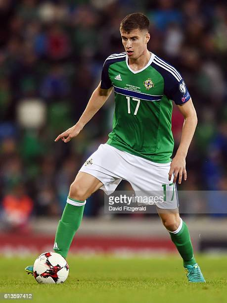 Belfast Ireland 8 October 2016 Paddy McNair of Northern Ireland during the FIFA World Cup Group C Qualifier match between Northern Ireland and San...