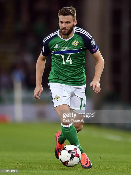 Belfast Ireland 8 October 2016 Stuart Dallas of Northern Ireland during the FIFA World Cup Group C Qualifier match between Northern Ireland and San...