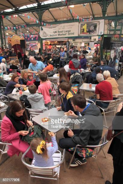 Belfast, St George's Market, people