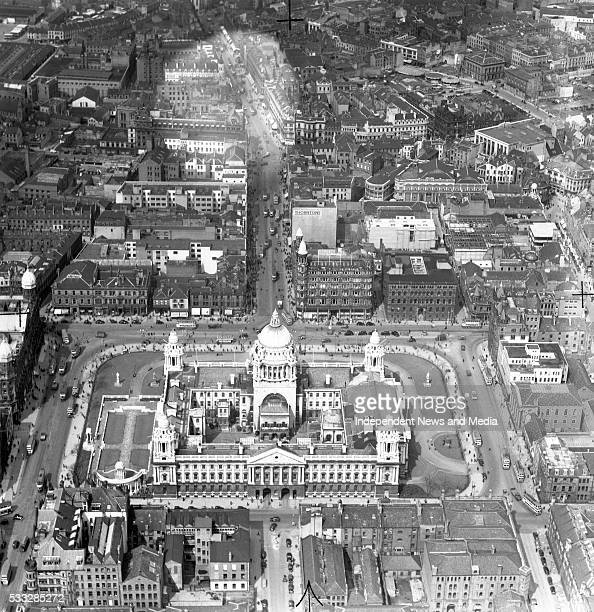 Belfast The City Hall and Donegall Square 03/12/54 Photograph by Alexander Campbell 'Monkey' Morgan