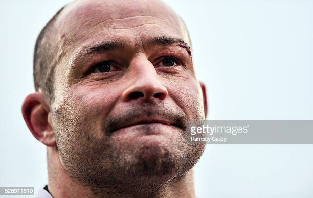 Belfast United Kingdom 10 December 2016 Ulster's Rory Best following their victory in the European Rugby Champions Cup Pool 5 Round 3 match between...