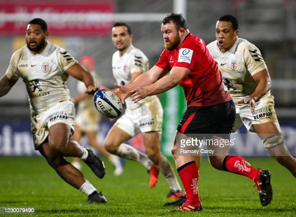 Belfast , United Kingdom - 11 December 2020; Andy Warwick of Ulster during the Heineken Champions Cup Pool B Round 1 match between Ulster and...