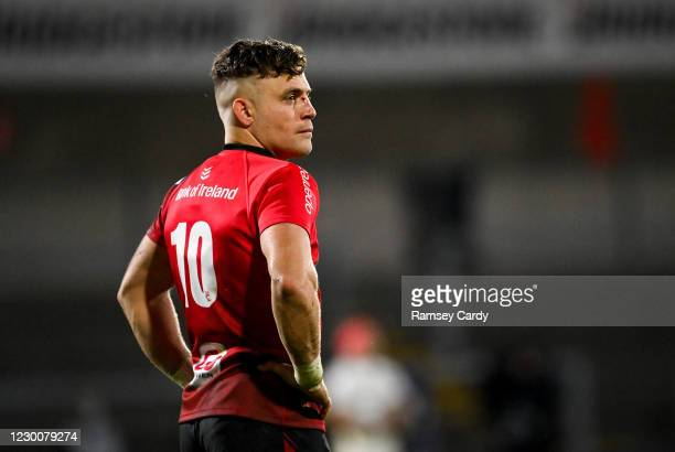 Belfast , United Kingdom - 11 December 2020; Ian Madigan of Ulster during the Heineken Champions Cup Pool B Round 1 match between Ulster and Toulouse...