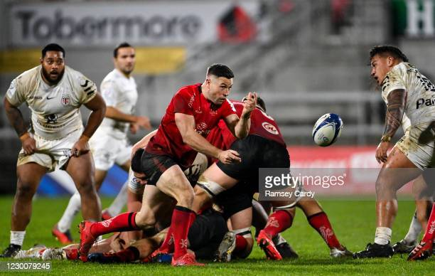 Belfast , United Kingdom - 11 December 2020; John Cooney of Ulster during the Heineken Champions Cup Pool B Round 1 match between Ulster and Toulouse...