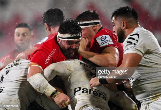 Belfast , United Kingdom - 11 December 2020; Marty Moore of Ulster during the Heineken Champions Cup Pool B Round 1 match between Ulster and Toulouse...