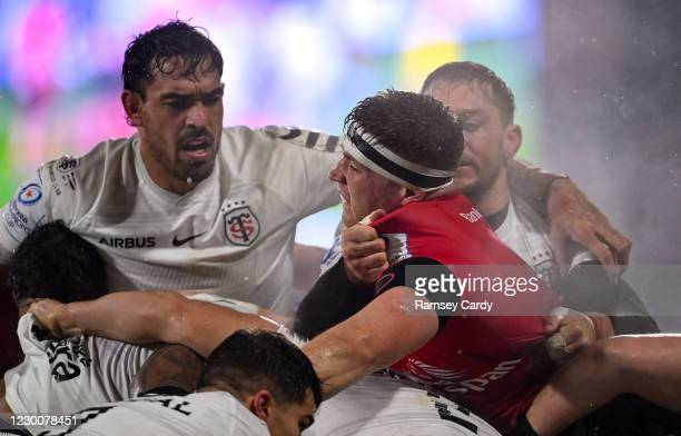 Belfast , United Kingdom - 11 December 2020; Matthew Rea of Ulster during the Heineken Champions Cup Pool B Round 1 match between Ulster and Toulouse...