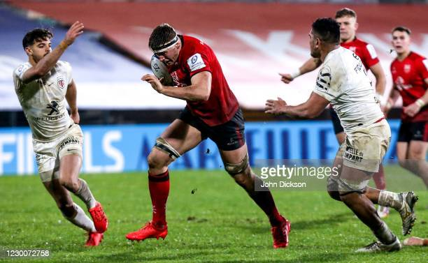 Belfast , United Kingdom - 11 December 2020; Matty Rea of Ulster during the Heineken Champions Cup Pool B Round 1 match between Ulster and Toulouse...