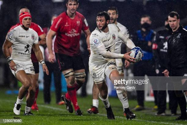 Belfast , United Kingdom - 11 December 2020; Maxime Médard of Toulouse during the Heineken Champions Cup Pool B Round 1 match between Ulster and...