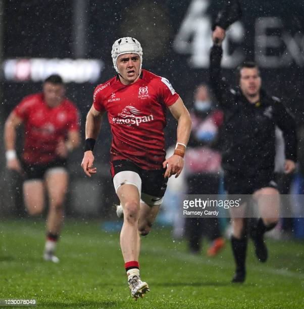 Belfast , United Kingdom - 11 December 2020; Michael Lowry of Ulster during the Heineken Champions Cup Pool B Round 1 match between Ulster and...