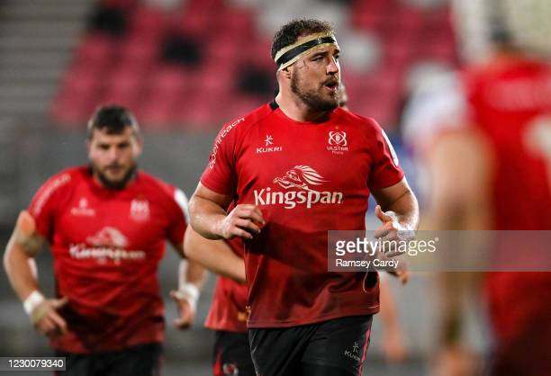 Belfast , United Kingdom - 11 December 2020; Rob Herring of Ulster during the Heineken Champions Cup Pool B Round 1 match between Ulster and Toulouse...