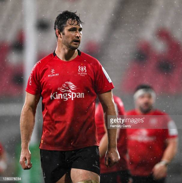 Belfast , United Kingdom - 11 December 2020; Sam Carter of Ulster during the Heineken Champions Cup Pool B Round 1 match between Ulster and Toulouse...