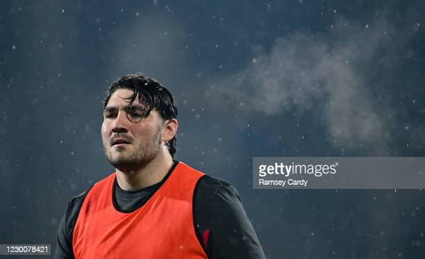 Belfast , United Kingdom - 11 December 2020; Tom O'Toole of Ulster ahead of the Heineken Champions Cup Pool B Round 1 match between Ulster and...