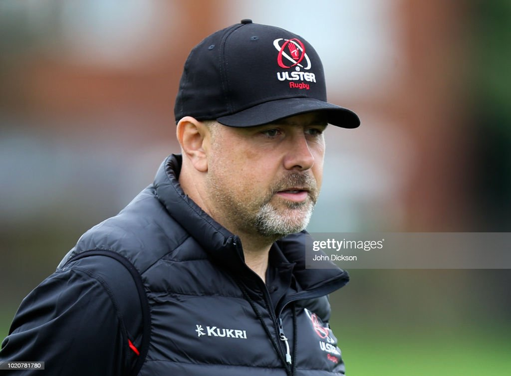 Ulster Rugby Training with New Head Coach