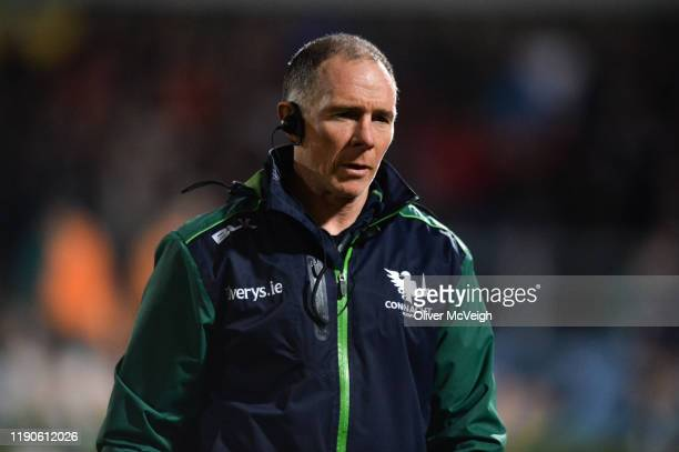 Belfast , United Kingdom - 27 December 2019; Connacht Head Coach Andy Friend before the Guinness PRO14 Round 9 match between Ulster and Connacht at...