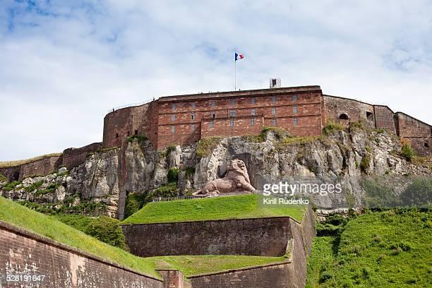 Belfort Citadel and Lion of Belfort