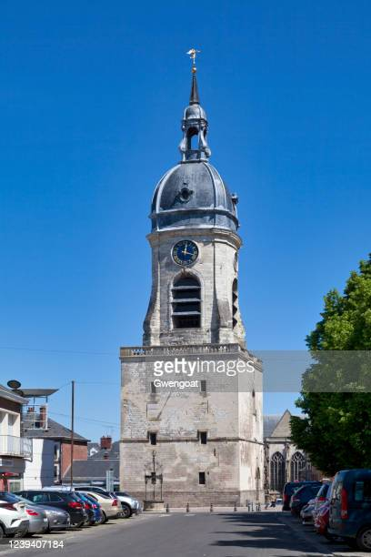 belfry of amiens - gwengoat stock pictures, royalty-free photos & images