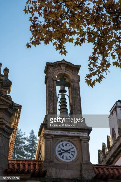 Belfry of five stars hotel Parador Casa da Insua during Gastronomic FAM Tour on November 29 2017 in Penalva do Castelo Portugal Gastronomic tours are...