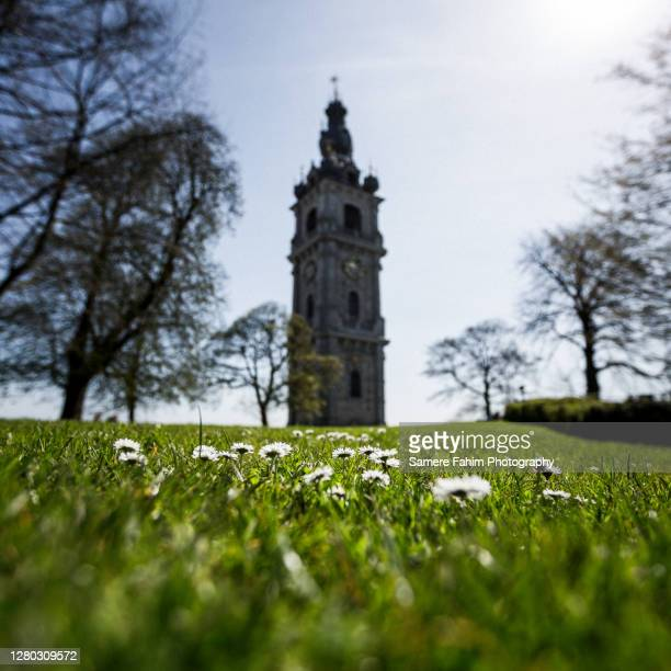 belfry - hainaut stock pictures, royalty-free photos & images