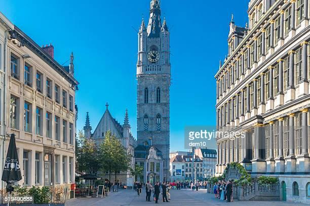 Belfry tower in Gent