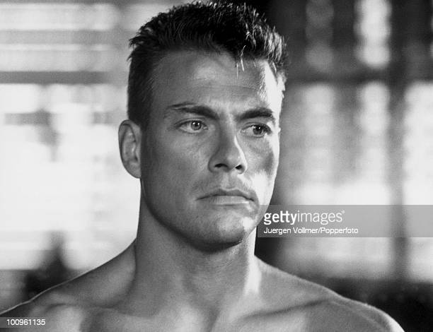 Belgian actor JeanClaude Van Damme on the set of 'Universal Soldier' 1991