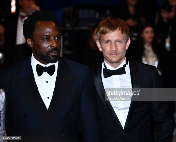 Belgian actor Jeremie Renier and British actor Ariyon Bakare arrive for the screening of the film 'Frankie' at the 72nd annual Cannes Film Festival...