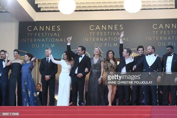 Belgian actor Jonathan Zaccai French actress Melanie Doutey French actress Noee Abita French actor Guillaume Canet French actress Leila Bekhti French...
