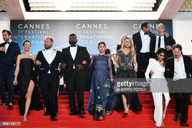 Belgian actor Jonathan Zaccai French actress Melanie Doutey French actor Alban Ivanov actor Balasingham Thamilchelvan French actress Noee Abita...
